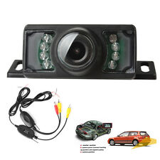 7 IR Night Vision Car Rear View Camera + 2.4G Wireless Color Video Transmitter