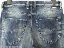 Diesel Short Faded Skinny, Slim Jeans for Men