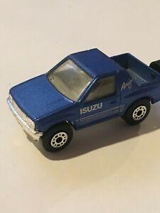 MATCHBOX BLUE ISUZU AMIGO MB52 LOOSE great cond. Thailand