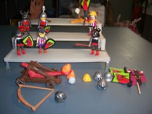 Playmobil Vikings and accessories, catapult