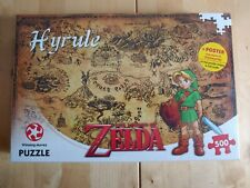 Legend of Zelda HYRULE puzzle 500pcs NEW in BOX jigsaw puzzle - SEALED -
