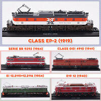New Locomotives 3D 1:87 Resin Retro Train Model Collection Decoration+Track Base