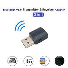 Bluetooth 5.0 Wireless Receiver Audio Adapter Transmitter 3.5mm Music AUX C~QA