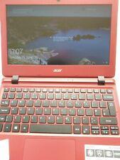 """RED Acer Aspire laptop ES1 132 Intel N3350, 4GB RAM, 120GB SSD, 11.6"""""""