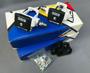 NOS Look PP65 1980's original Bernard Hinault pedals La Vie Claire Toshiba NIB