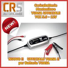 Caricabatterie Mantenitore YUASA UFFICIALE - 12V YCX 5.0 come CTEK - MOTO e AUTO