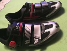 New VITTORIA PRO POWER Mens Sz 43 Cycling Shoes Italy No Cleats