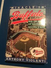Anthony Violanti Miracle In Buffalo Bisons Natural Signed 1st Edition Holo COA