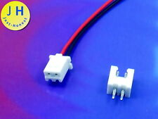 Kit hembra e + conector 2 polos/pins header 2.54mm + male connector PCB #a1756