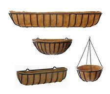 Heavy Duty Garden Wall Troughs - Hanging Baskets - Wall Basket Mangers