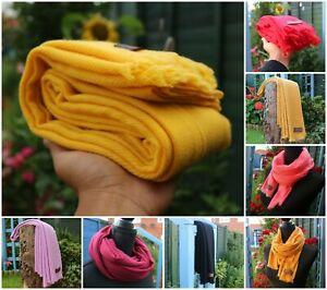 Beautifully Soft Cashmere Pashmina shawl Stole Warp Handmade