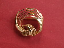 9ct yellow gold brooch pin 4.60 grams