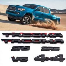 2016-2020 Toyota Tacoma Blackout Emblem Overlay Kit V6 4x4