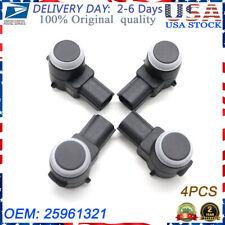 4PCS 25961321 PDC Parking Bumper Assist Sensor For Buick Cadillac Chevrolet GMC