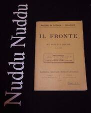 Il Fronte, atlante di 32 cartine in sei colori - Berger-Levrault, 1915
