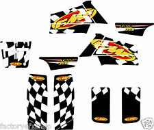 Yamaha Banshee FMF Graphics Kit Fenders Plastics Decals Stickers 350 ATV Black