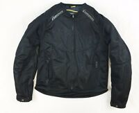 ICON WOMEN'S ANTHEM MOTORCYCLE TEXTILE JACKET BLACK - SIZE M MD MEDIUM