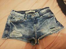 Denim Shorts Size 8