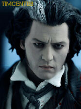 In Stock! Hot Toys Demon Barber Street 1/6 Sweeney Todd Johnny Depp Figure