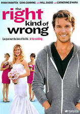 The Right Kind Of Wrong (DVD, 2013, WS)  Ryan Kwanten, Sara Canning   NEW