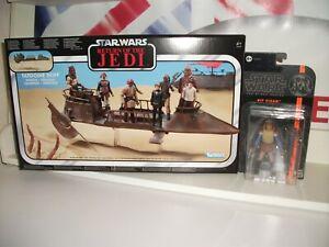 star wars Vintage collection Tatooine sail skiff + VIZAM NEW WORN PACKAGING post