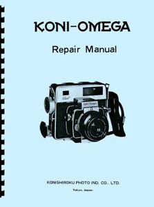 Koni-Omega Rapid Camera Repair Manual Reprint