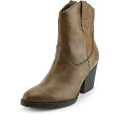 Cowboy Boots Cuban Heel Synthetic Boots for Women