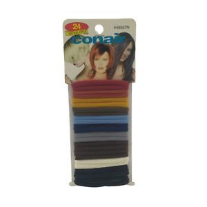 Conair - 24 Metal Free - Multicolored Ponytailers 3 pack