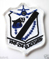 VMF-214 BLACKSHEEP Military Veteran Biker US MARINE Patch PM5017 EE
