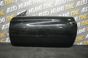 09-16 HYUNDAI GENESIS COUPE LH LEFT DRIVER SIDE SIDE DOOR SHELL BLACK