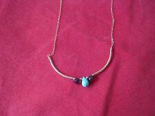 Eva Hanusova Pink Bar Necklace, NWT