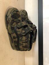 Vans Military Print Sneakers For Kids 25