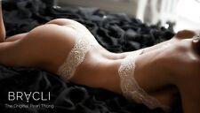 Bracli perles string Classic (une coupe droite pour) one size >>> crème