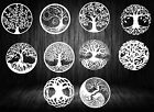 DXF-CDR of PLASMA LASER & ROUTER Cut -CNC BEST 10 PANEL TREE OF LIFE