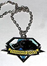 Pendentif Metal gear diamond dogs Metal gear diamond dogs logo metal necklace