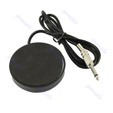 Round 360 Star Tattoo Machine Footswitch Foot Pedal Controller Power Supply BK