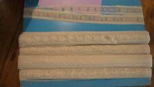 Vintage Antique Narrow Lace Trim Lot, White,Cream,5 Different Designs!