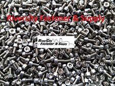 (100) M3-0.5x6mm OR M3X6 mm Socket / Allen Head Cap Screws Stainless Steel