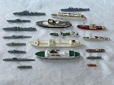 kuriose 19 x Schiffe Sammlung Wiking Kriegsmodelle aus Tölzer Speicherräumung