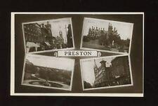 Lancashire Lancs PRESTON M/view c1900/10s? RP PPC