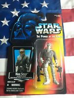 Star Wars Power of the Force Han Solo Hoth Gear 1995 Kenner Action Figure