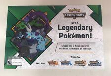 Target EXCLUSIVE Thundurus & Tornadus 2018 Pokemon Event Code Sun & Moon Ultra