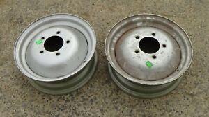 Solis 20 front wheel rims (pair)