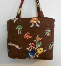 Handmade Purse Tote Bag made w/ M&M'S® Licensed Fabric Celebrate