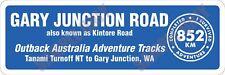Gary Junction Road Bumper Sticker