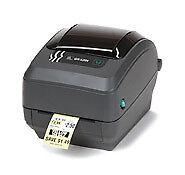 Zebra Gk420t Monochrome Desktop Thermal Transfer Label Printer