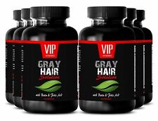 Stop hair loss - GRAY HAIR SOLUTION. DIETARY SUPPLEMENT - Against gray hair - 6B