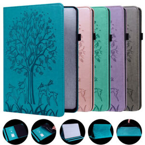 Leather Flip Case For Amazon Fire HD 10/Plus 2021 11th Generation Stand Cover