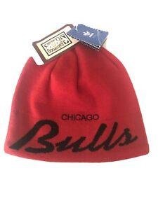 CHICAGO BULLS NWT ADIDAS HARWOOD CLASSICS RED BEANIE KNIT HAT