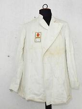 Weiße Jacke Berufsbekleidung Marke Greiff Originaletikett Bäcker Koch Wk II